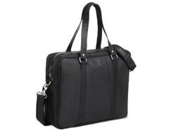 Brodrene Leather Bag Black