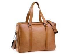 Brodrene Leather Bag Light Brown