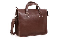 Leather Business Satchel VOOC Crazy Horse TC7