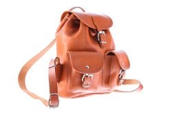Small leather backpack VOOC Vintage P2