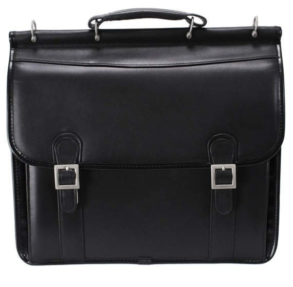 "15.6"" Double Compartment Laptop Case Mcklein Halsted"