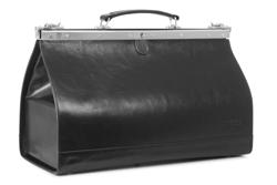 Czarny kufer lekarski