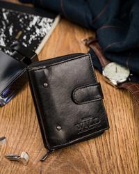 Mały portfel Always Wild® skórzany dla mężczyzny