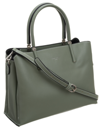 Zielona torebka damska do pracy David Jones® CM5631 APPLE GREEN