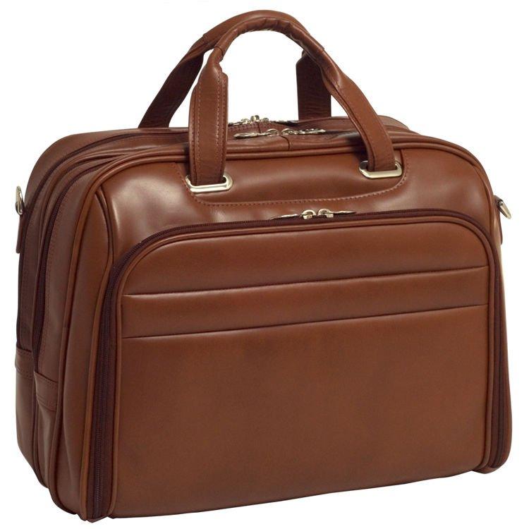 771777a21a1d4 Kliknij, aby powiększyć · Biznesowa męska torba skórzana na laptopa  Springfield 17