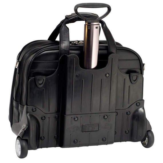 "Czarna torba na kółkach Midway 17"""