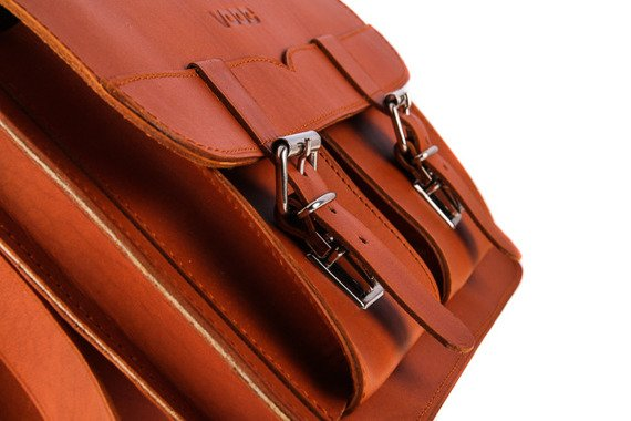 Klasyczna teczka skóra naturalna fukcja plecak Vintage P12