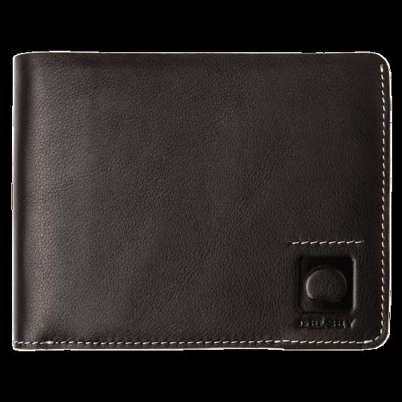 Męski elegancki brązowy portfel Delsey Aurore wykonany jest z naturalnej skóry