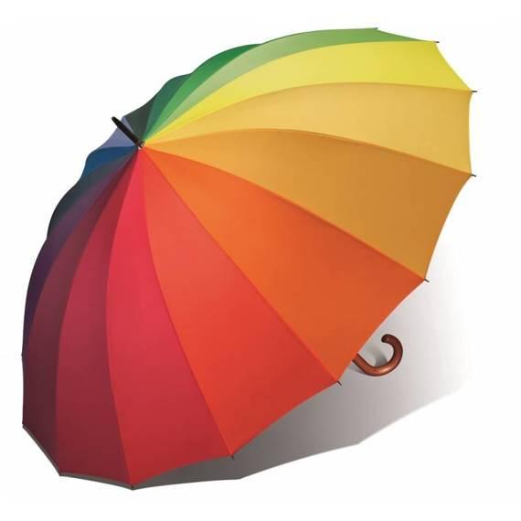 Parasol długi Tęcza Happy Rain XL