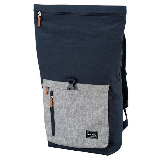 Plecak Travelite Basics antykradzieżowy rollowany plecak na laptopa