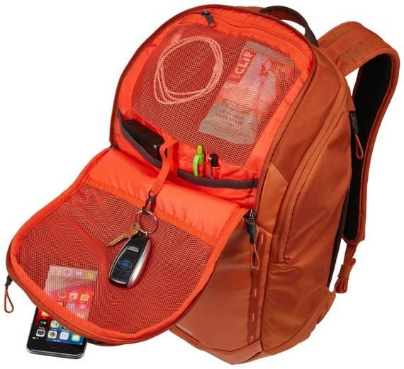 """Plecak miejski podróżny na laptopa 15,6"""" 26 litrów Thule Chasm Pomarańczowy"""