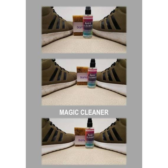 Preparat do czyszczenia podeszw shoe care magic cleaner bama x2