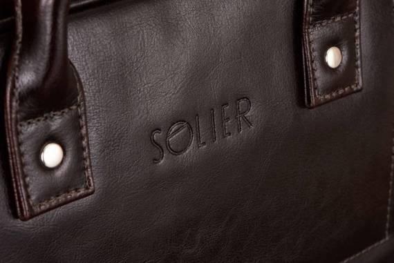 SKÓRZANA TORBA NA LAPTOPA MĘSKA SOLIER SL21 BELFAST