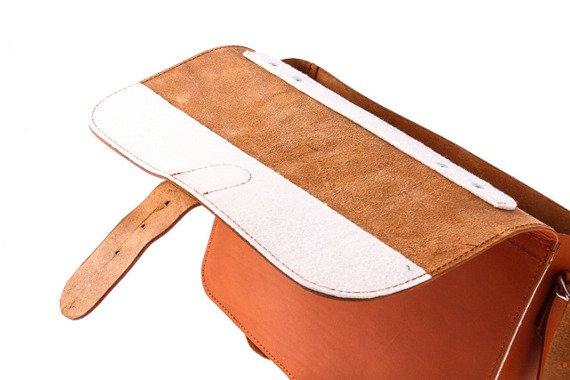 Teczka skórzana z funkcją plecaka skóra naturalna 3w1 Vintage P13