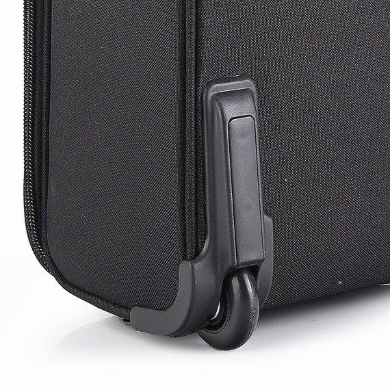 Torba na laptopa Pilotka na kółkach Dielle 409 czarna