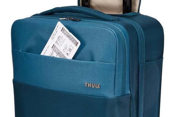 """Walizka mała kabinowa 4 kółka z kieszenią na laptopa do 17""""' i tablet Thule Spira Niebieska"""