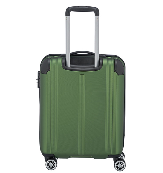 Walizka mała kabinówka Travelite City, ABS, 4 kółka