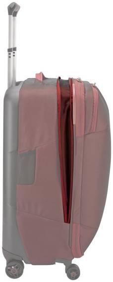 Walizka podróżna średnia 4 kółka 63 litry Thule Subterra Bordowa